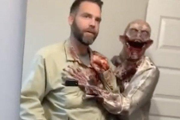 Halloween costume : level zombie