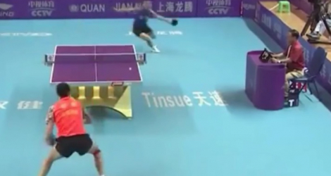 Point Interminable En Tennis De Table
