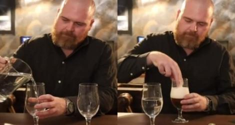 La différence acoustique entre la bière et l'eau