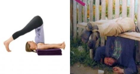 10 postures de Yoga à reproduire quand vous êtes bourré