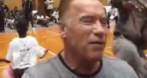 Arnold Schwarzenegger agressé en Afrique du sud