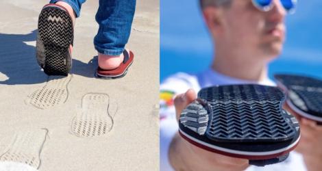 L'invention de l'année : les sandales avec semelle à l'envers