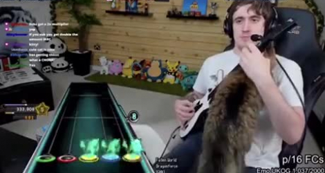 Guitar Hero : level chat