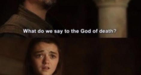 Que dit-on au Dieu de la Mort ?