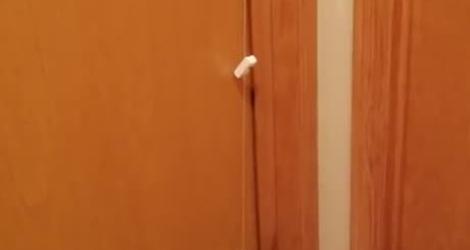 Un système ingénieux et pas cher pour ouvrir une porte sans toucher la poignée (Coronavirus)
