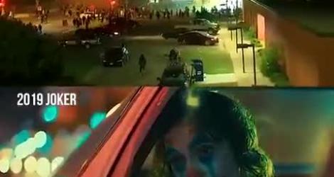 Émeutes de Minneapolis : la version Joker